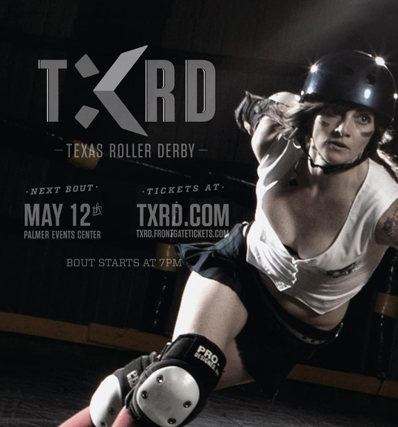 TXRD Lonestar Rollergirls Logo and Identity