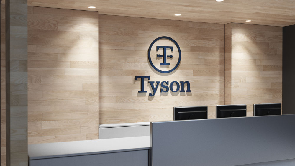 New Logo and Identity for Tyson Foods by Brand Union