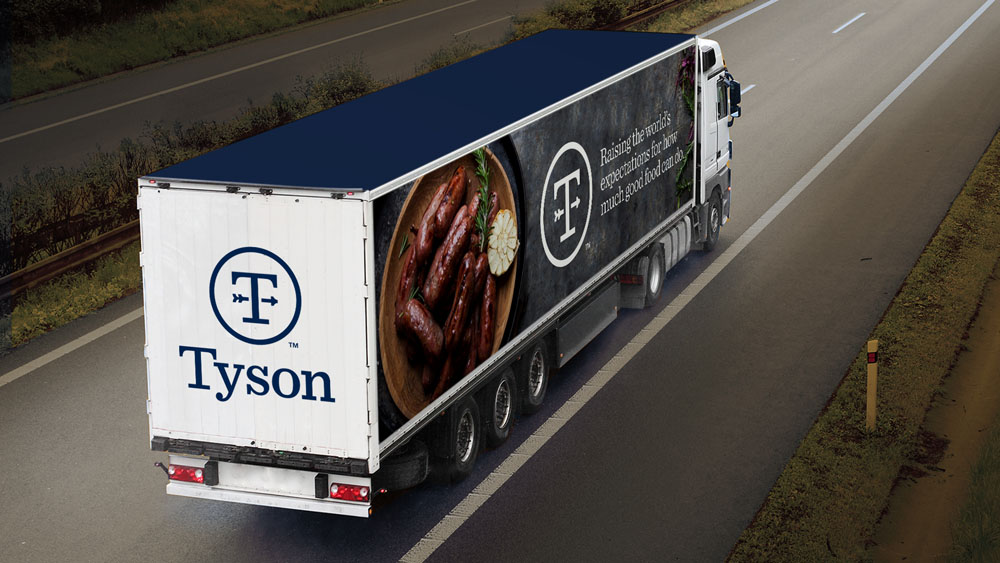 Brand New Follow Up New Logo And Identity For Tyson