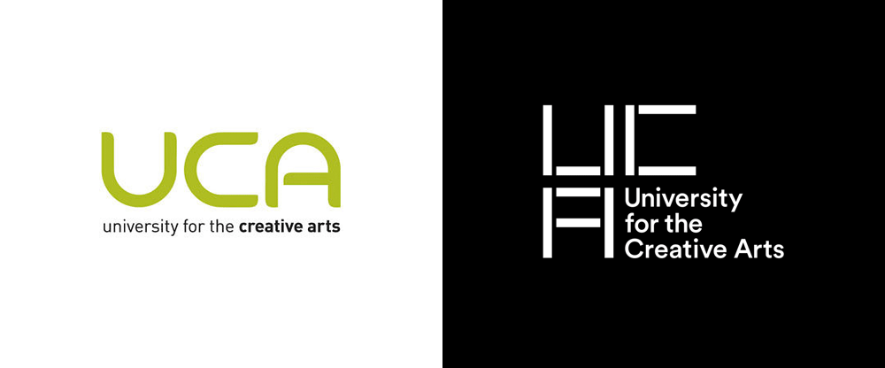 New Logo and Identity for UCA by Spin