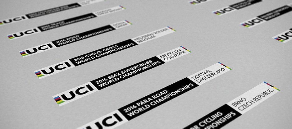 New Logo and Identity for Union Cycliste Internationale by SomeOne