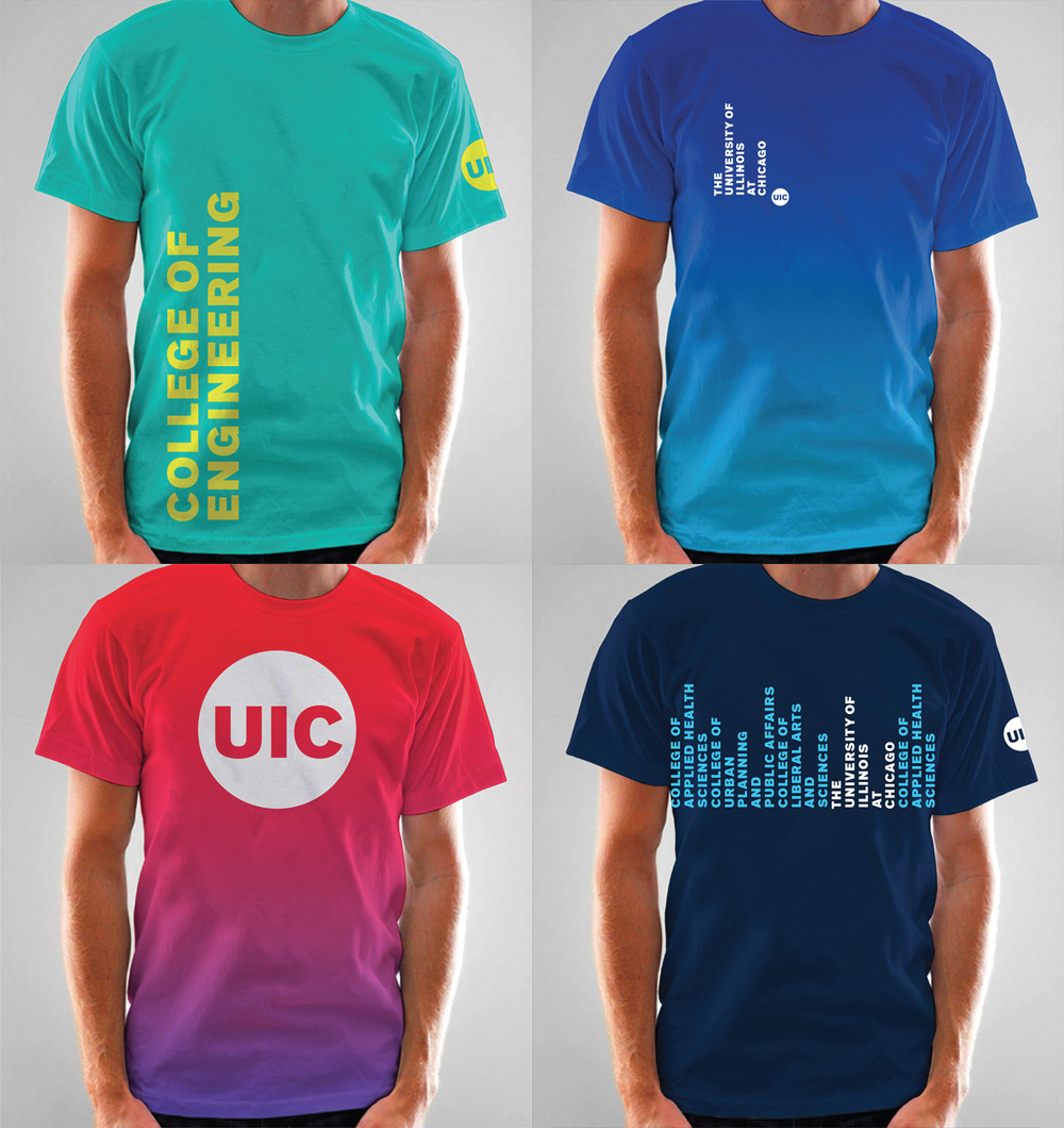 Brand new new logo and identity for uic by its design for Architecture student t shirts