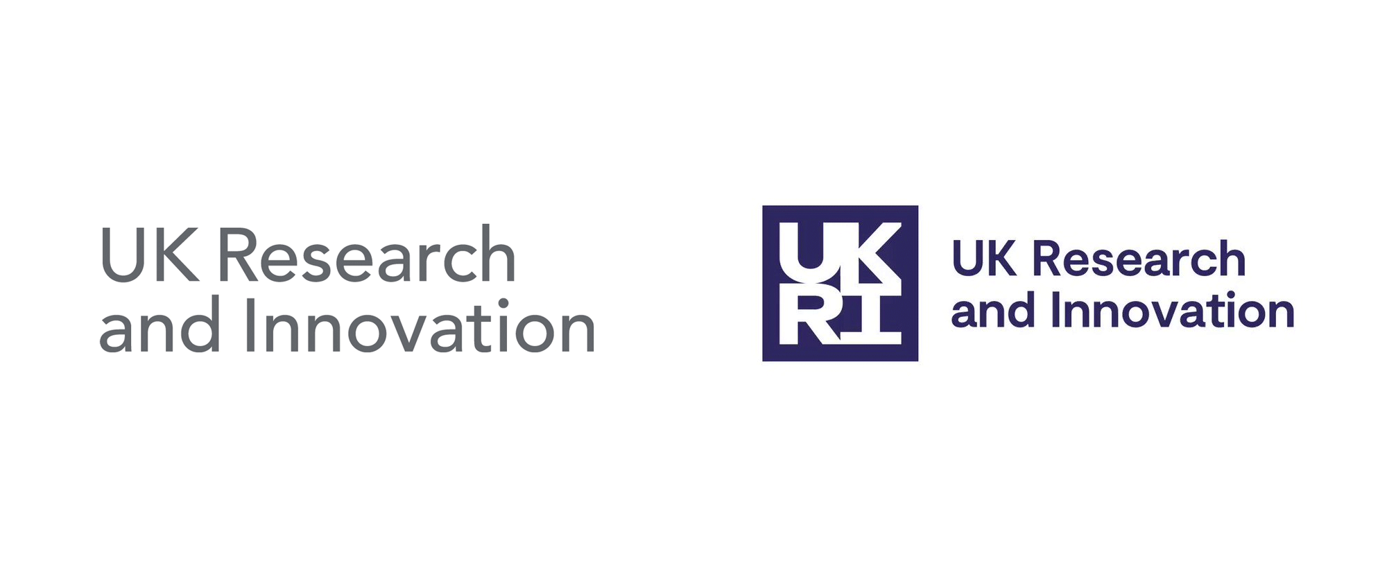 New Logo and Identity for UKRI by Dragon Rouge