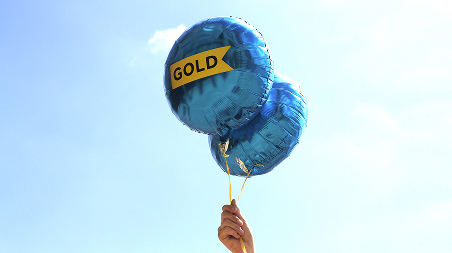 New Logo and Idents for Gold by DixonBaxi