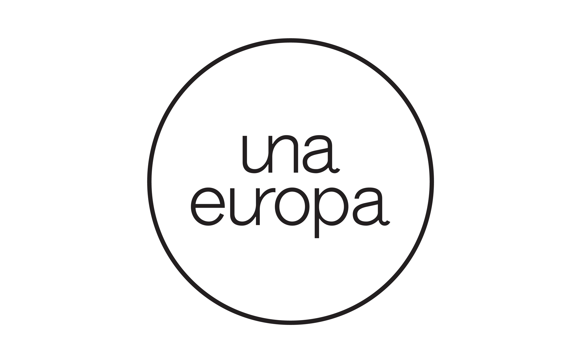 New Logo and Identity for Una Europa by Base Design