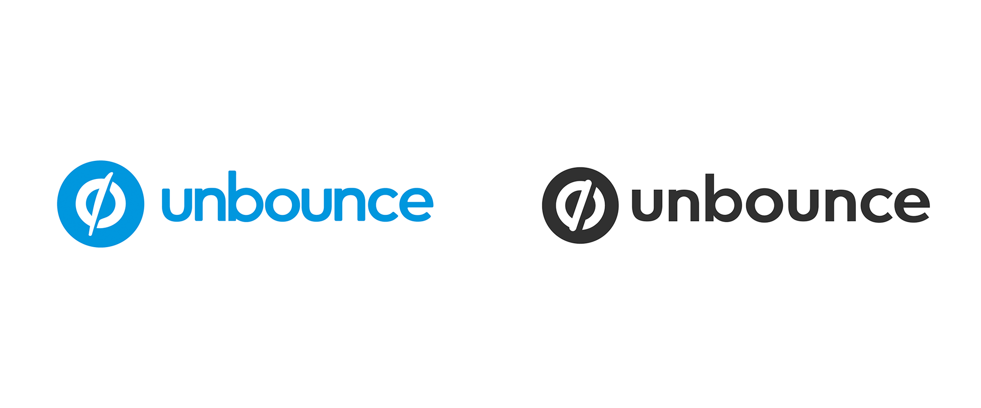 New Logo and Identity for Unbounce done In-house