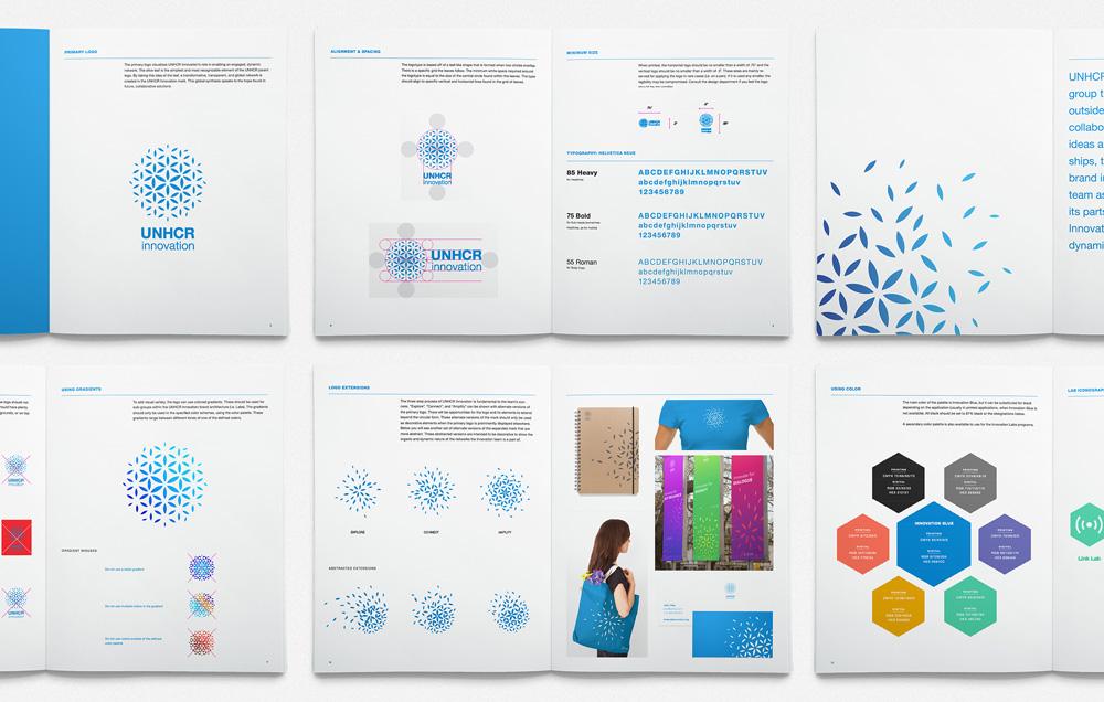 New Logo and Identity for UNHCR Innovation by Hyperakt
