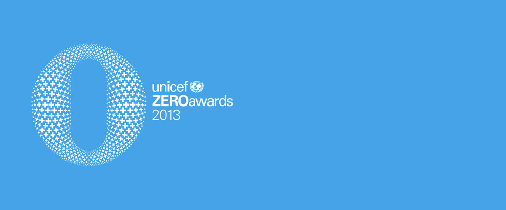 New Logo and Identity for UNICEF ZEROawards by Rice