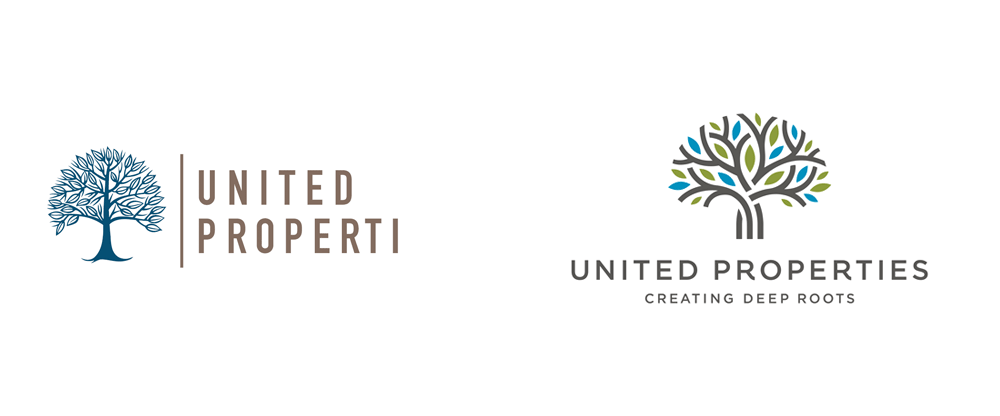 New Logo and Identity for United Properties by Studio MPLS