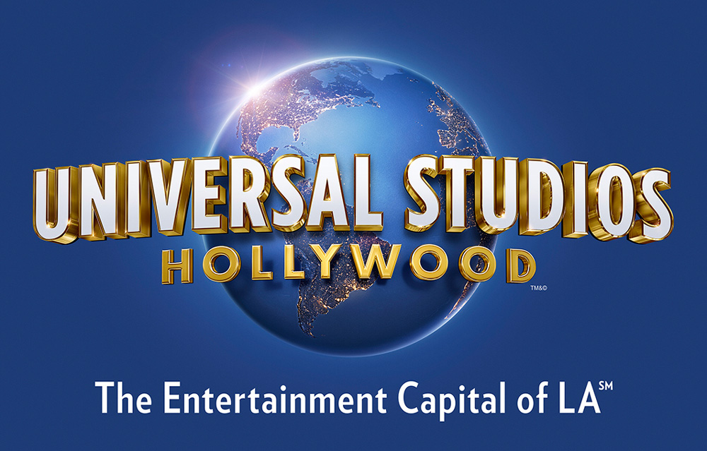 New Logo for Universal Studios Hollywood by Struck