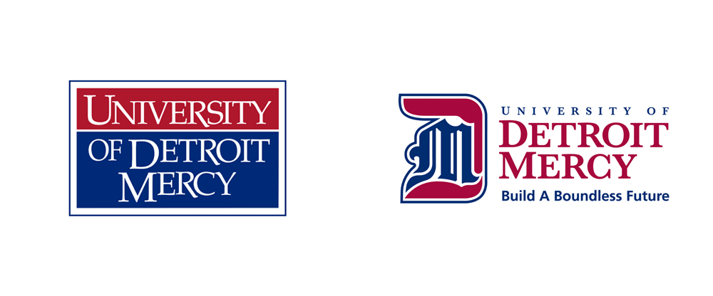 New Logo and Identity for Detroit Mercy University by BD&E