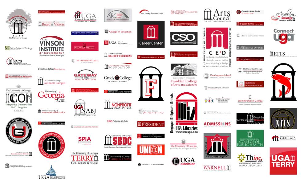 New Logo for University of Georgia