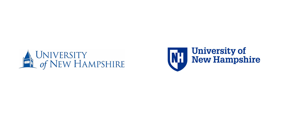 New Logo for University of New Hampshire by Chermayeff & Geismar & Haviv