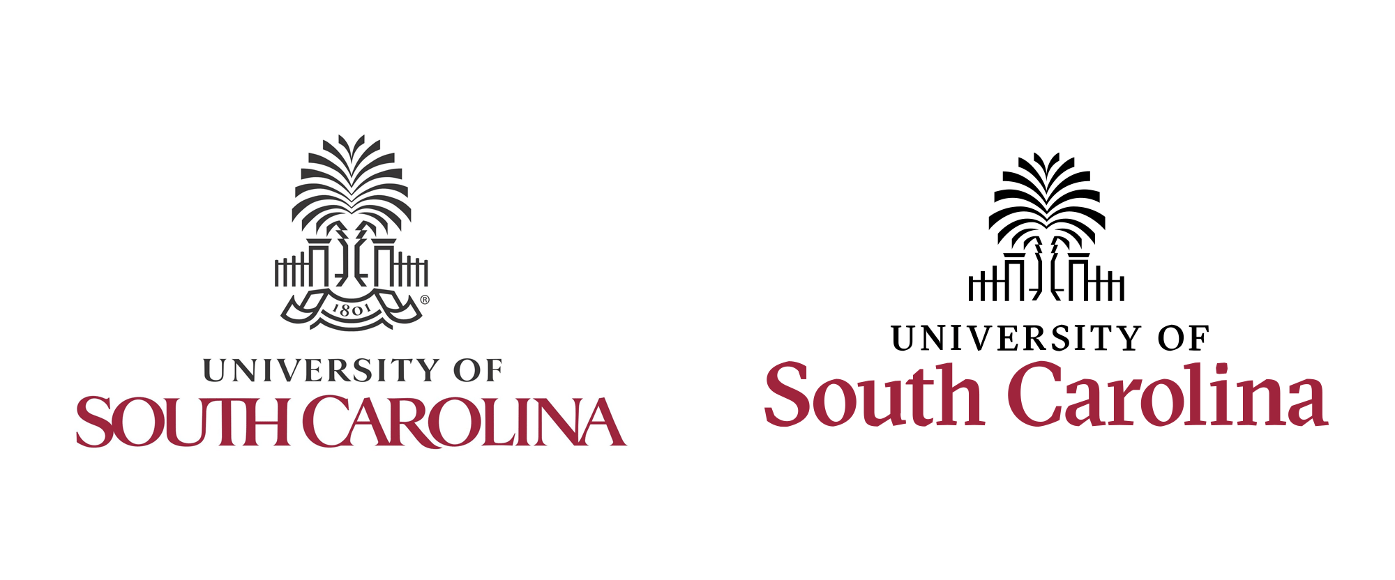 New Logos for University of South Carolina