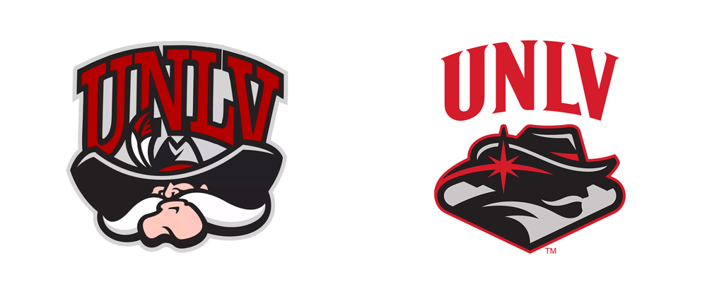 New Logo for UNLV Rebels by Adrenalin