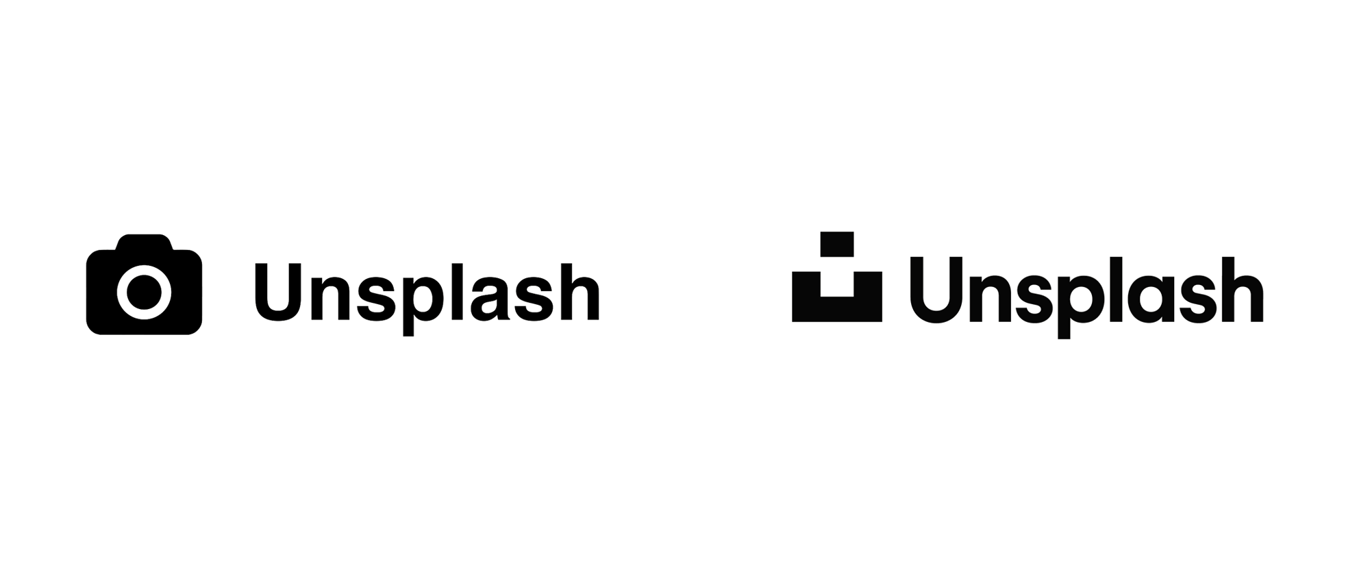 New Logo for Unsplash by Mackey Saturday