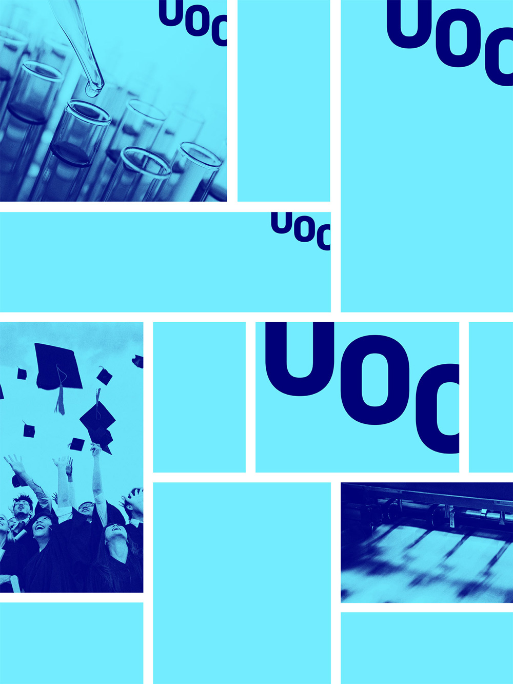 New Logo and Identity for Universitat Oberta de Catalunya by Mucho
