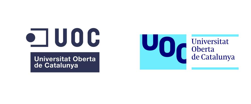 Brand New New Logo And Identity For Universitat Oberta De