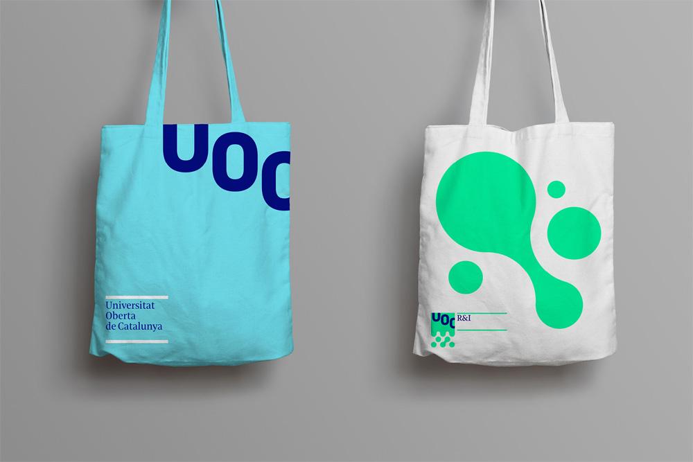 New Logo and Identity for Universitat Oberta de Catalunya by Mucho