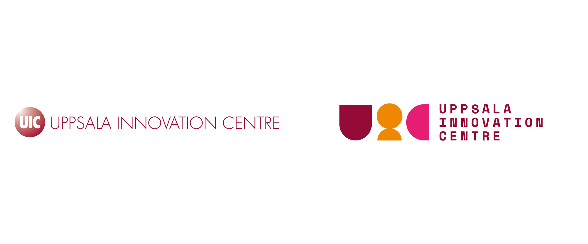 New Logo and Identity for Uppsala Innovation Centre by Jesper Holm