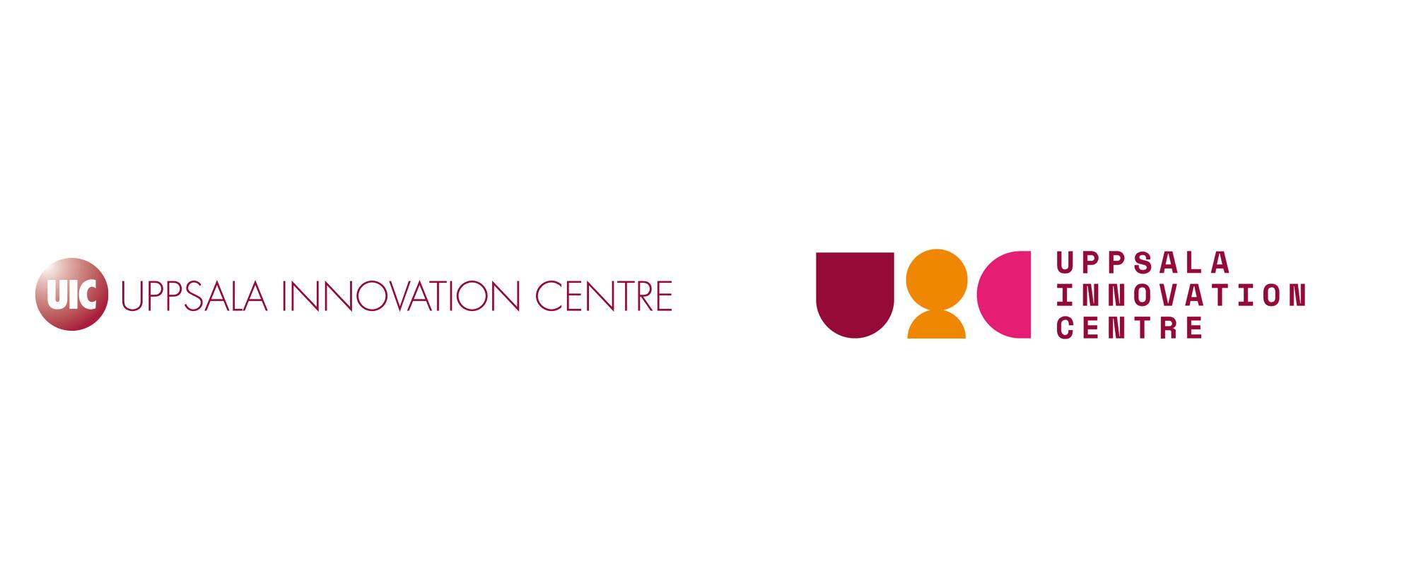 New Logo and Identity for Uppsala Innovation Centre by Jesper Holm