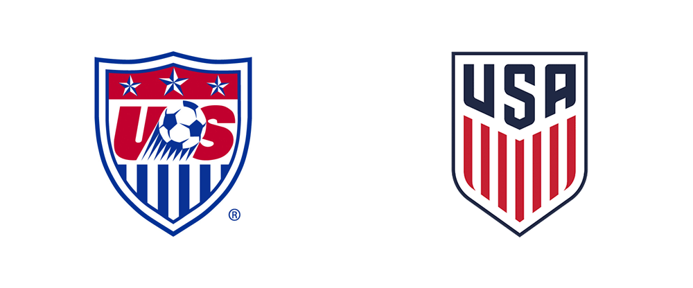 New Logo and Type Family for U.S. Soccer by Nike and Type Supply