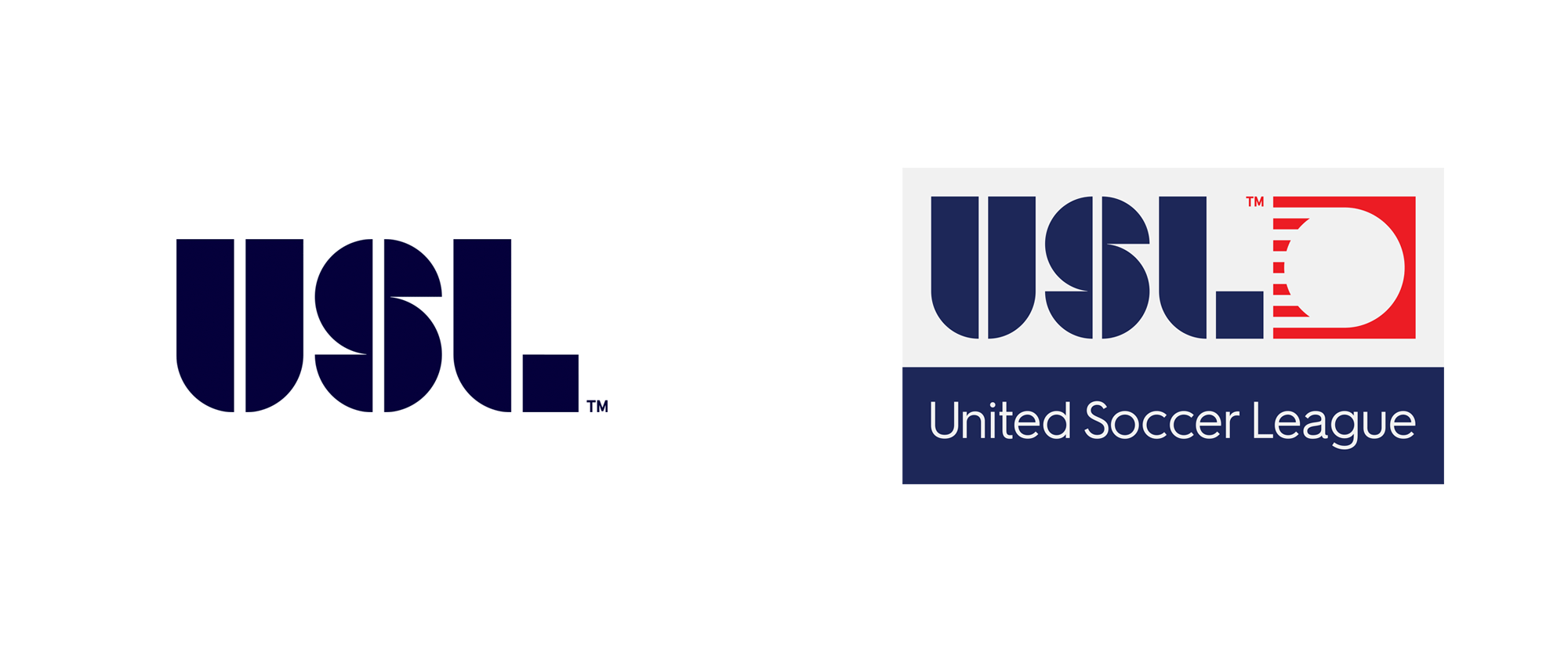 New Logo System for USL by Athletics and In-house