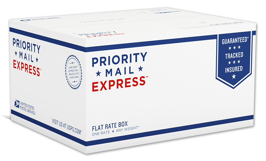 New Packaging for USPS Priority Mail