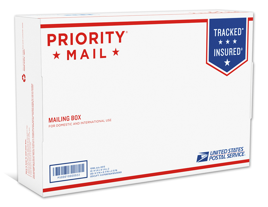 The Postal Store® ships all in-stock orders with USPS Tracking™. Please allow 5 - 7 business days for in-stock items to be shipped. The Postal Store® cannot accept orders for shipment outside the United States, but we do ship to APO/FPO/DPO addresses and U.S. territories.