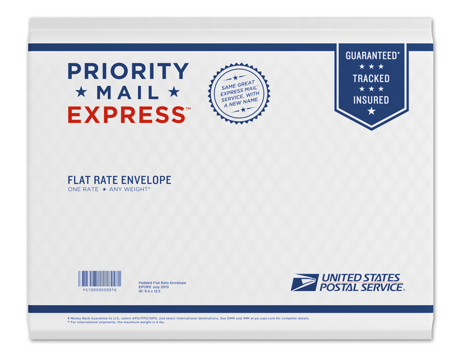 Brand New: New Packaging for USPS Priority Mail
