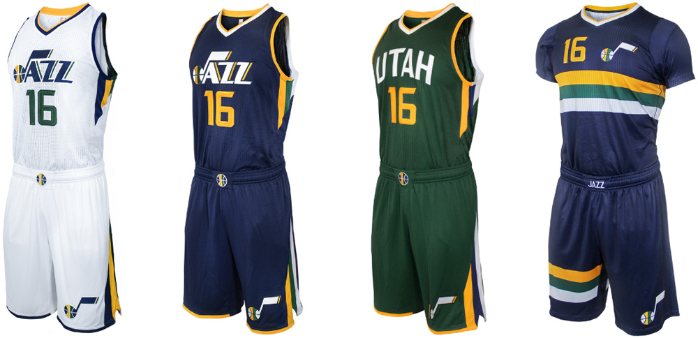 c852aba8f1f Brand New  New Logos for Utah Jazz done In-house