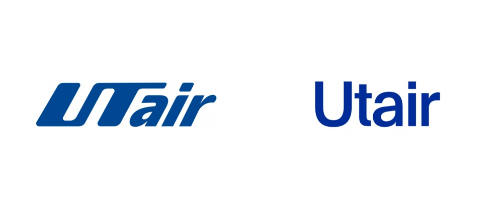 New Logo and Livery for Utair by Friends Moscow