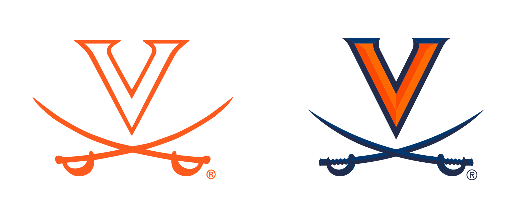 New Logos for Virginia Athletics by Nike GIG