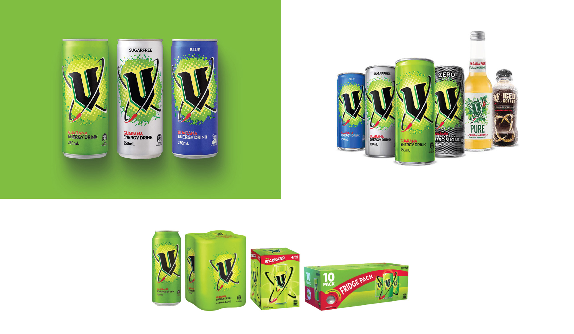 New Logo, Identity, and Packaging for V by Audsley Designs and TBMC