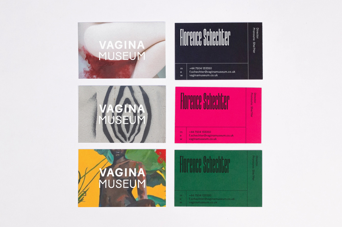 New Logo and Identity for Vagina Museum by Passport
