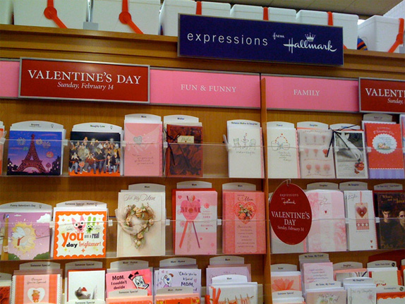 Valentine's Day Redesign by UnderConsideration