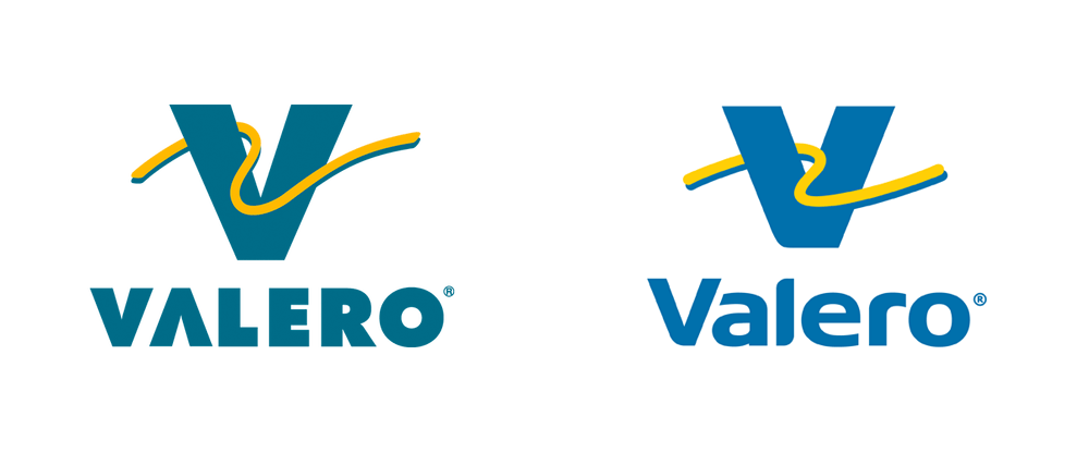 New Logo for Valero by Antista Fairclough