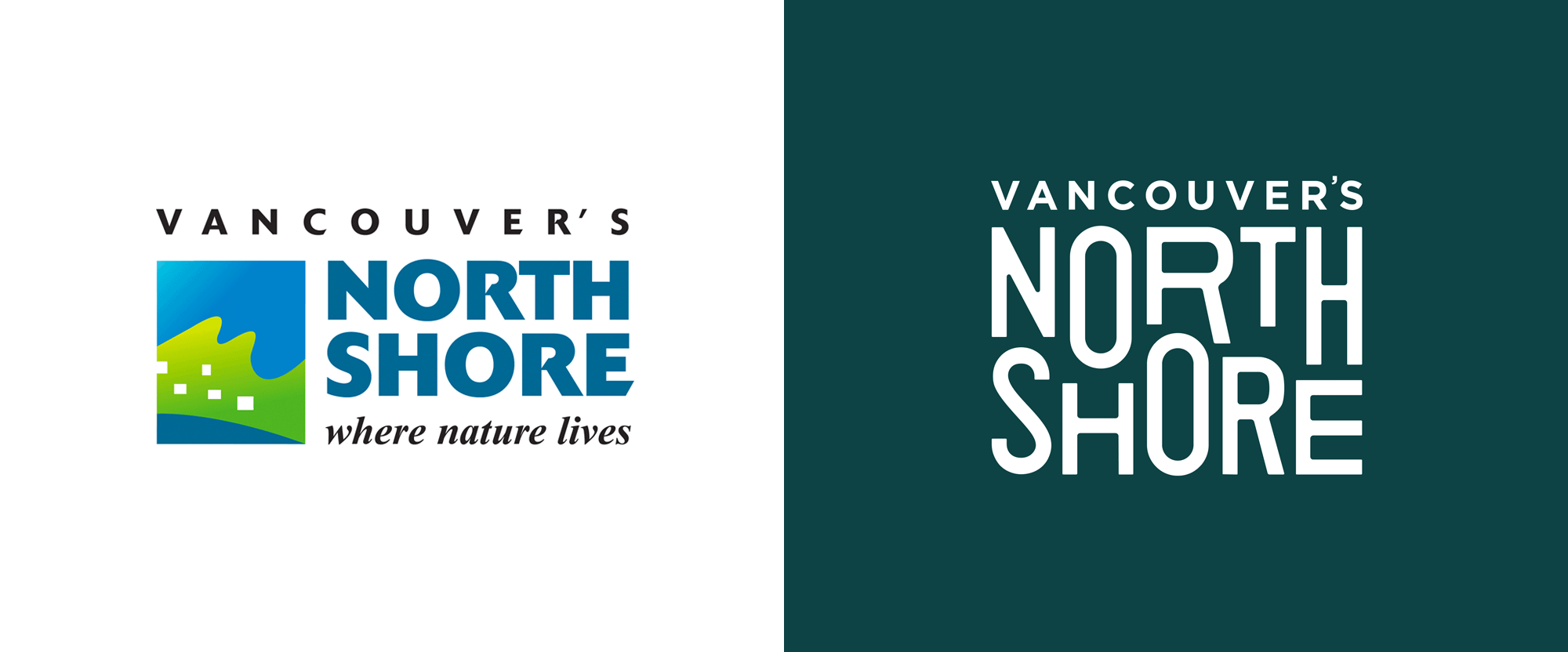 New Logo and Identity for Vancouver's North Shore by LOKI