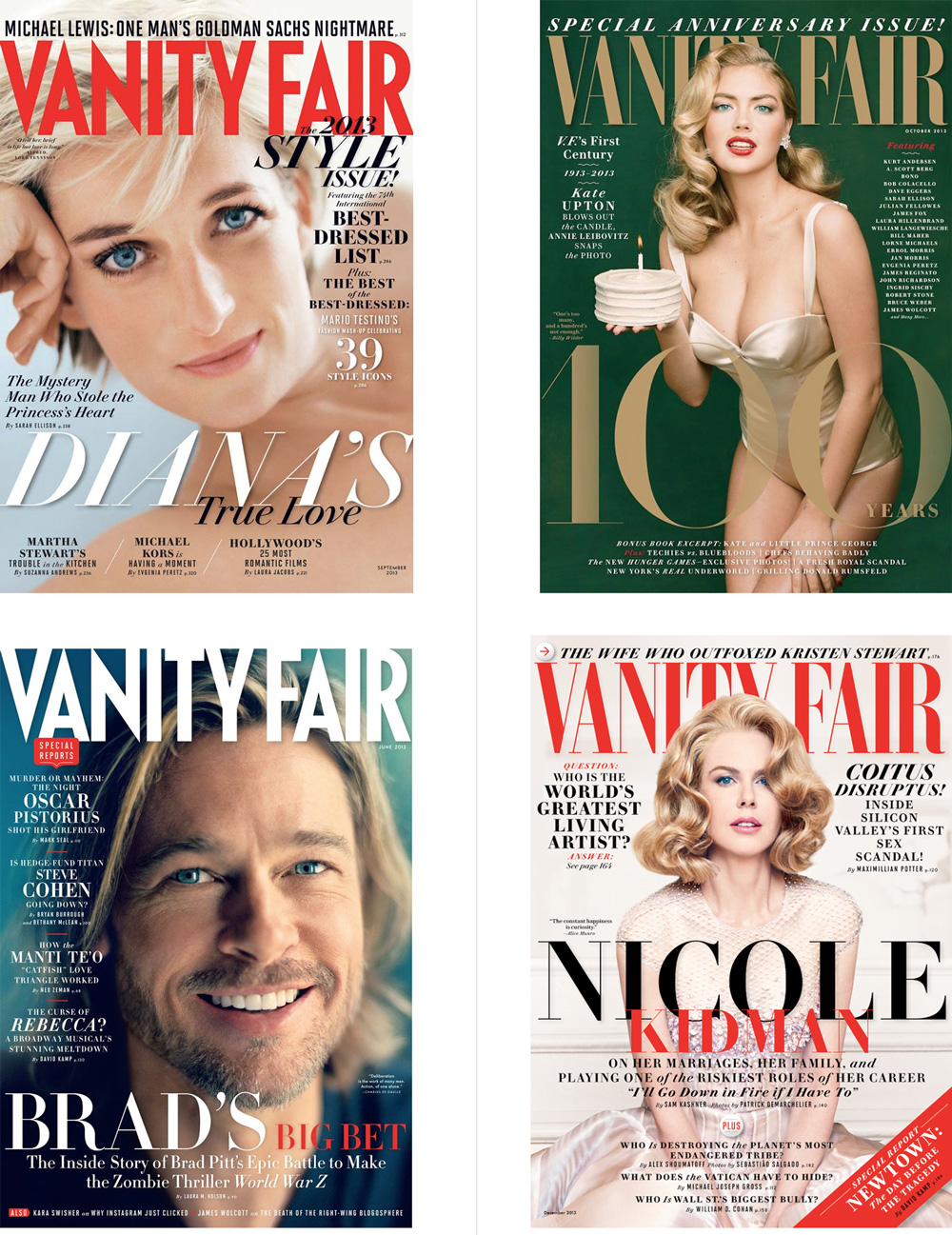 New Logo for Vanity Fair by Commercial Type