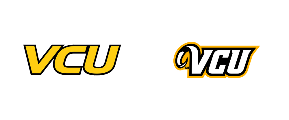 Brand New New Logos For Vcu Athletics By Rickabaugh Graphics