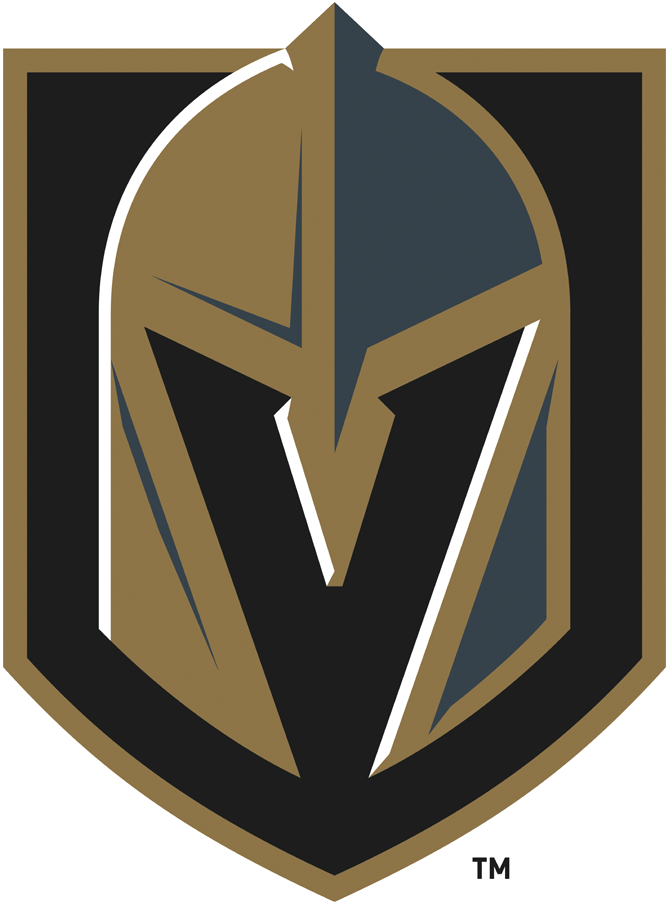 brand new new logo for vegas golden knights by adidas