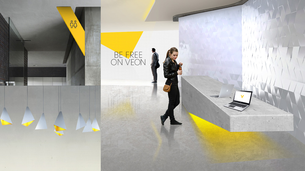 New Logo and Identity for VEON by Moving Brands