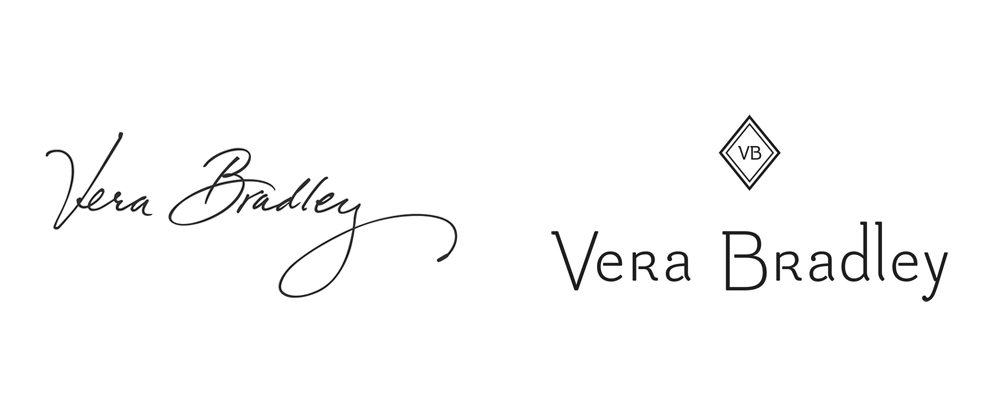 New Logo for Vera Bradley