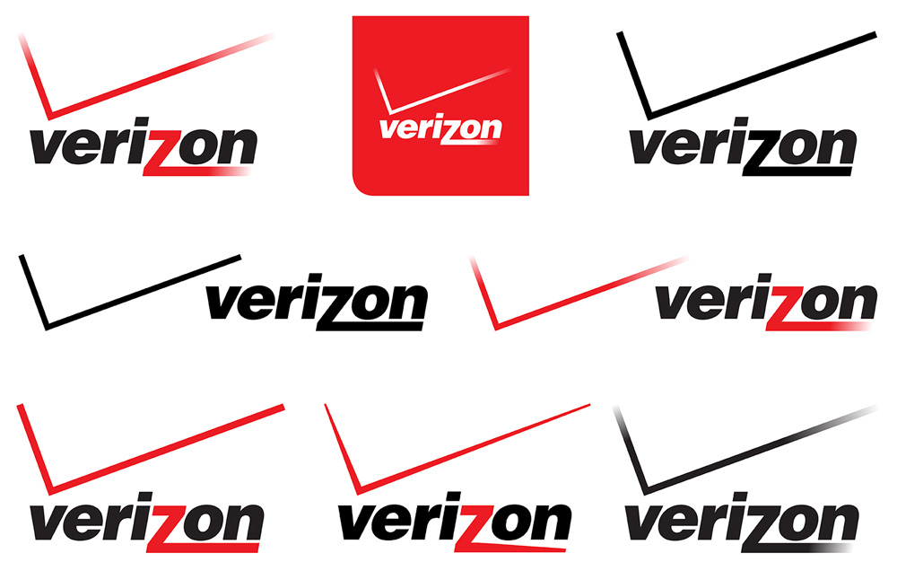 Brand New: New Logo for Verizon by Pentagram