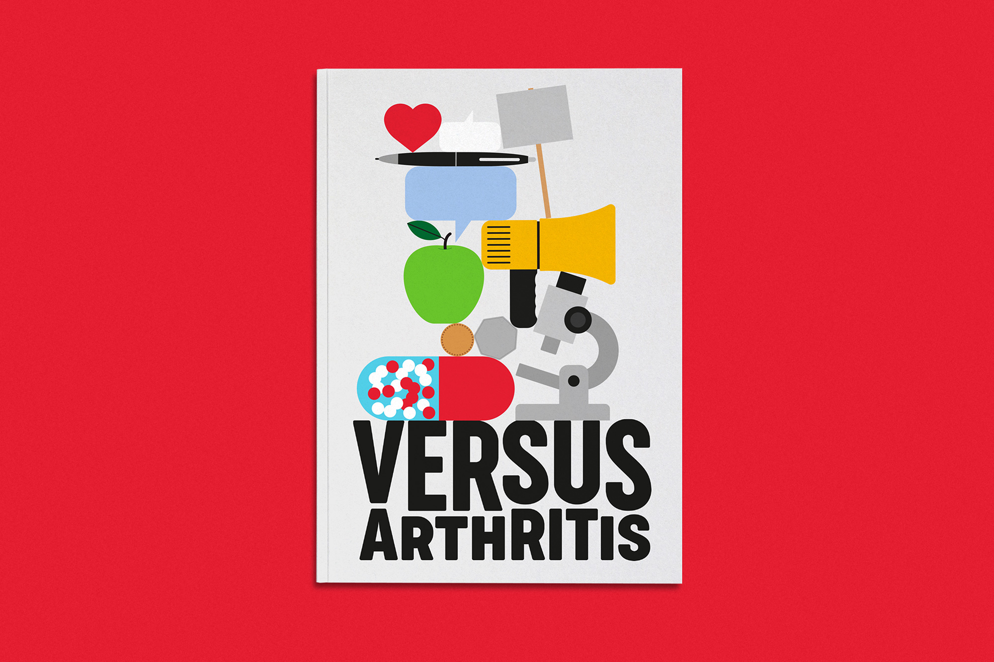 New Name, Logo, and Identity for Versus Arthritis by Re