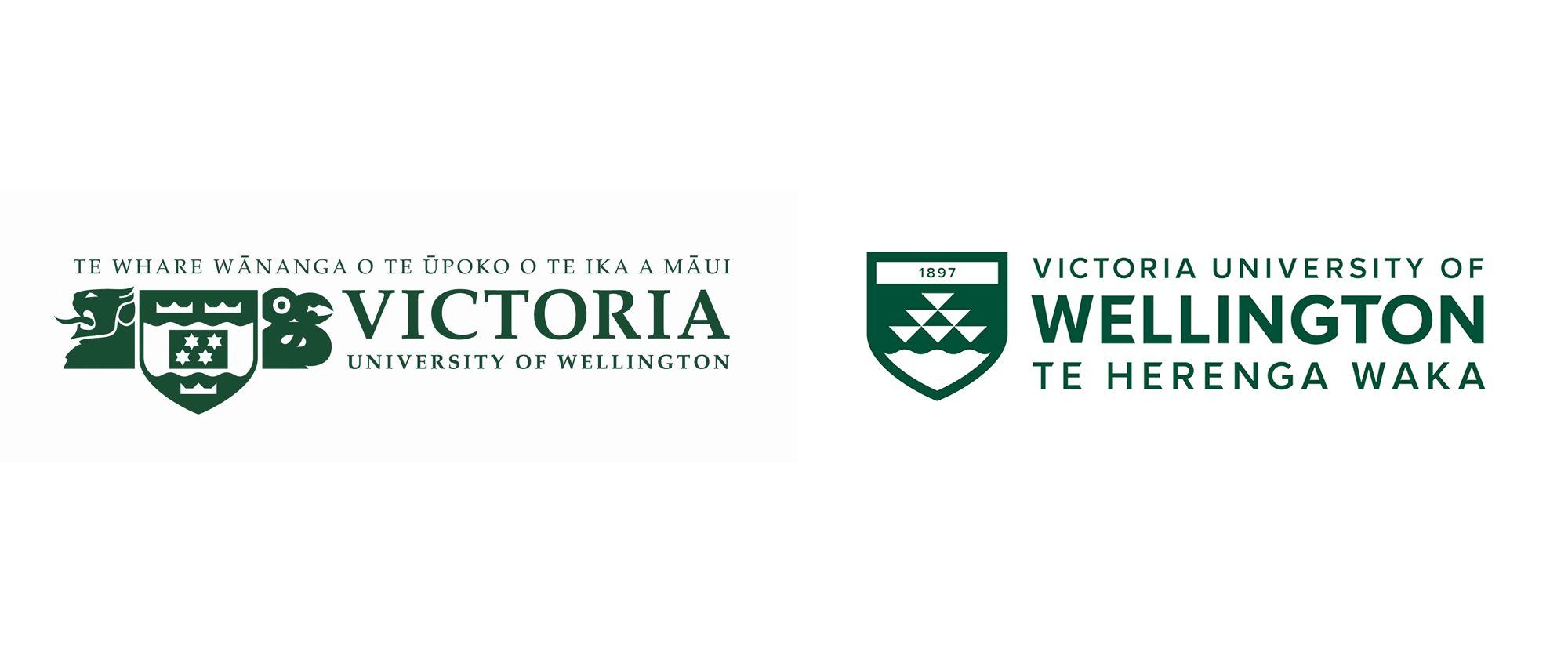 New Logo for Victoria University of Wellington