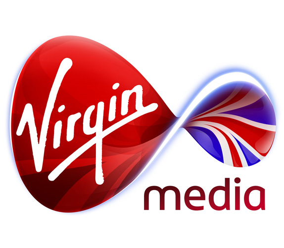Virgin Media Logo, Before and After