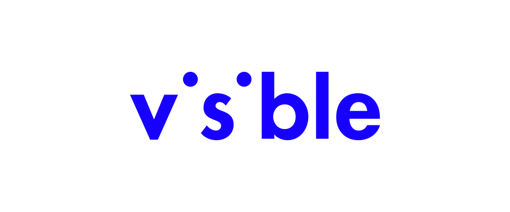 New Logo and Identity for Visible by Pentagram
