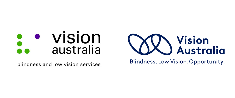 New Logo and Identity for Vision Australia by Designworks