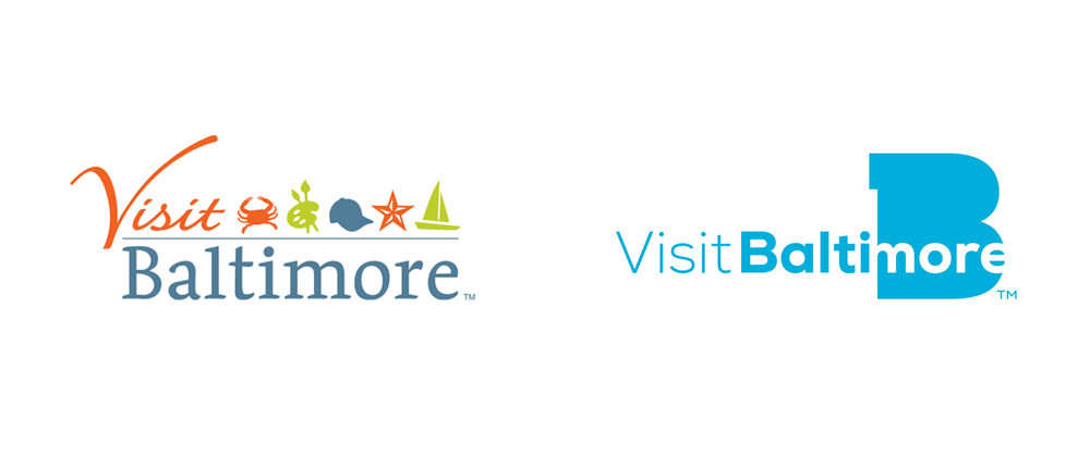New Logo and Identity for Visit Baltimore by TBC